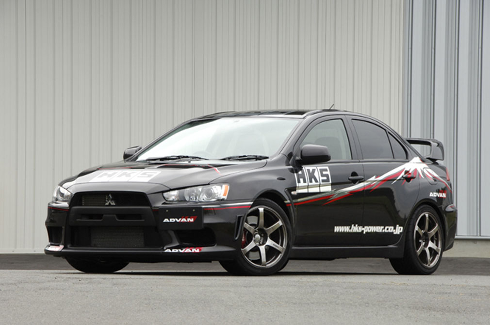 MITSUBISHI LANCER EVOLUTION X GSR [CZ4A] 2007y / HKS [DEMO-CAR]