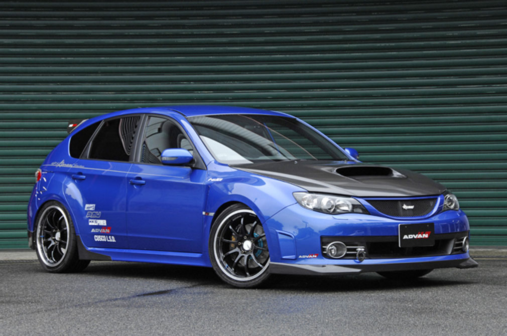 SUBARU IMPREZA WRX STI [GRB] 2007y / Kansaiサービス [SHOP DEMO-CAR]