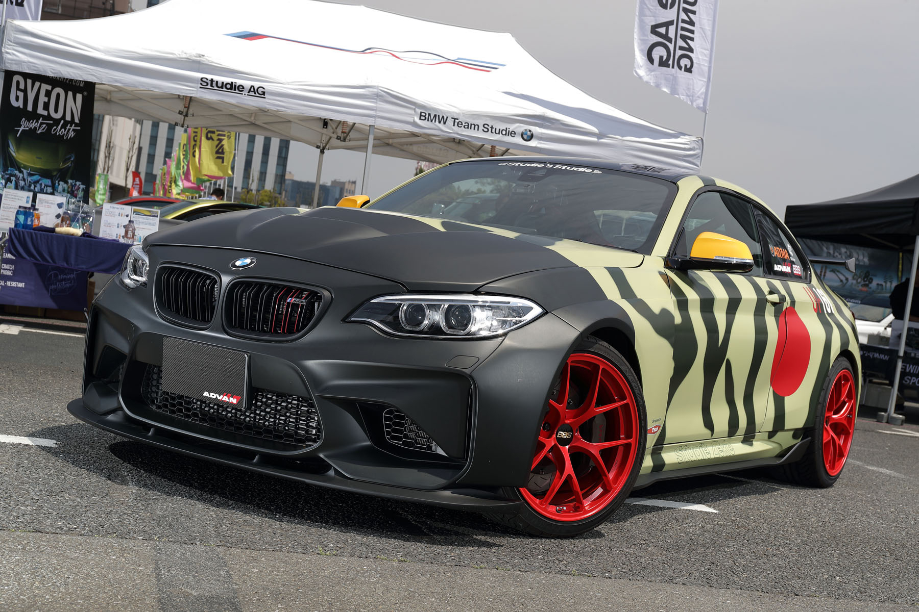 BMW M2 [F87] 2016y / Studie NAGOYABAY [DEMO-CAR]
