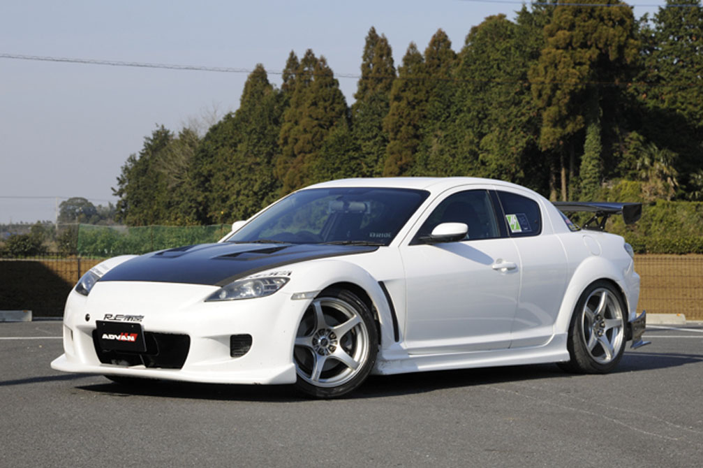 MAZDA RX-8 Type S [LA-SE3P] 2003y / RE雨宮 [SHOP DEMO-CAR]