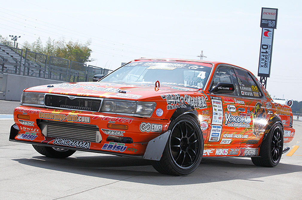 熊久保 信重  NISSAN LAUREL [C33] 1990y  YUKE'S チームオレンジ with BEAST EYE  [D1 GRAND PRIX MACHINE]
