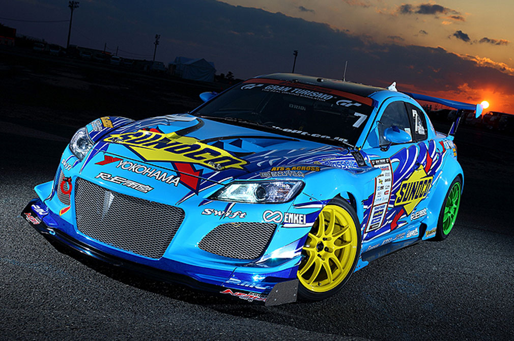 末永 正雄  MAZDA RX-8  RE雨宮 SUNOCO with YOKOHAMA  [2013 D1 GRAND PRIX MACHINE]