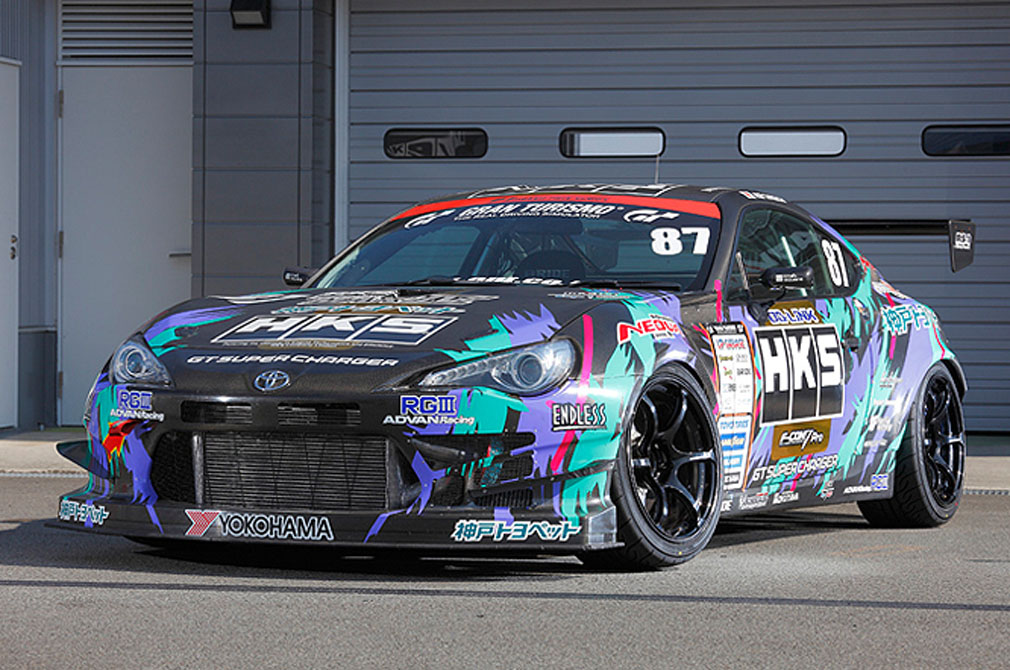 谷口 信輝 TOYOTA 86 [ZN6] HKS RACING PERFORMER 86 RS-1 / [2014 D1 GRAND PRIX MACHINE]