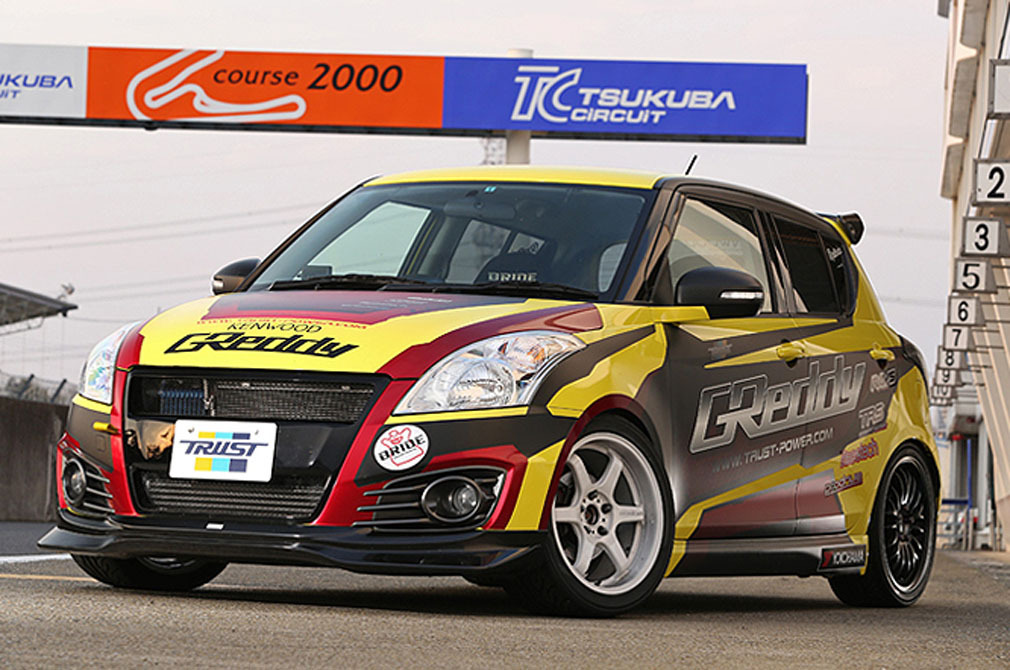 SUZUKI SWIFT [ZC32] 2011y / TRUST [DEMO-CAR]